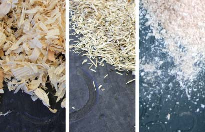 BELMONDO Pferdematten in der Box zur Feuchtigkeitsbindung einstreuen - Varianten