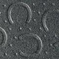 Hufeisenprofil an der Oberfläche der BELMONDO Basic Stallmatte aus Gummi für den Pferdestall